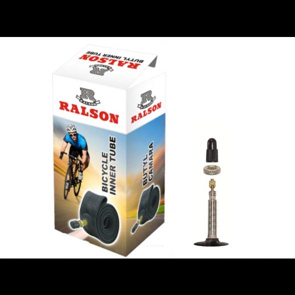 """Duša Ralson 28""""x1.10 - 1.45, 28/45-622/635, galuskový ventil"""