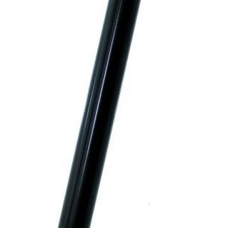 Oceľová sedlovka 25,4mm čierna
