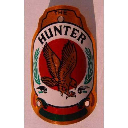 Štítok bicykla Hunter