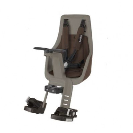 Front Child Seat BOBIKE EXCLUSIVE Mini, Brown