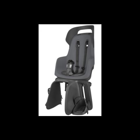 Zadná detská sedačka BOBIKE GO Carrier Mount, čierno-šedá