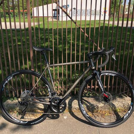 Gravel Bicykel by Pecobikes, testovací