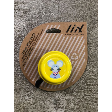 Bike bell Liix - Dots, orange