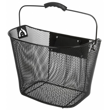 Front basket with carrier