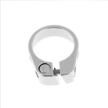 seat clamp 31.8 ALU silver