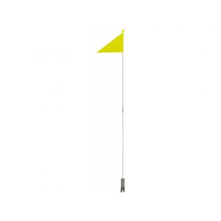 Bezpečnostná vlajka skladacia, žltá