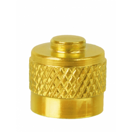 Čapička na autoventilok, zlatá